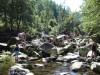 Flussbettwandern